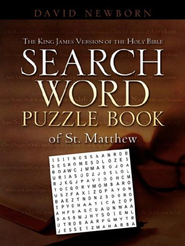 The King James Version of the Holy Bible Search Word Puzzle Book of St. Matthew 9781600343643