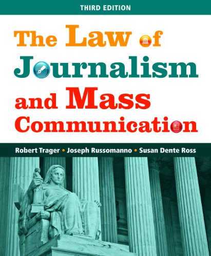 The Law of Journalism and Mass Communication 9781608716692