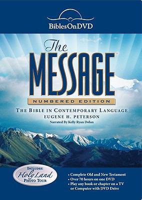 The Message: Bible on DVD in Contemporary Language 9781603620550