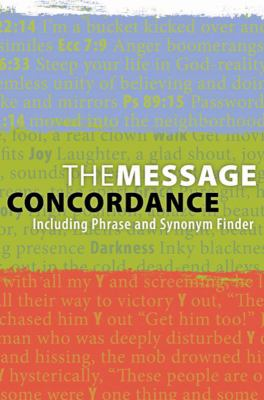 The Message Concordance: Including Phrase and Synonym Finder 9781600069789