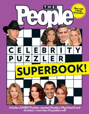 The People Celebrity Puzzler Superbook! 9781603208055