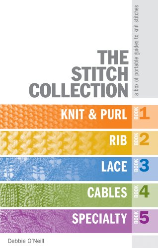 The Stitch Collection: A Box of Portable Guides to Knit Stitches 9781600593918