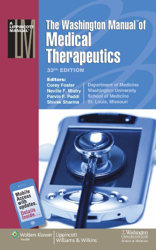 The Washington Manual of Medical Therapeutics 9781608310036
