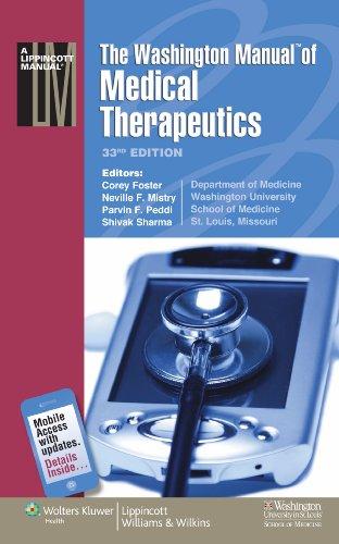 The Washington Manual(r) of Medical Therapeutics 9781605470146
