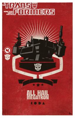 Transformers: All Hail Megatron Volume 4 9781600105920