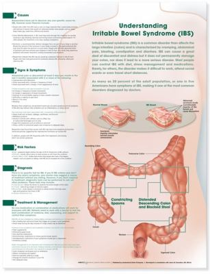 Understanding Irritable Bowel Syndrome Anatomical Chart 9781608312153