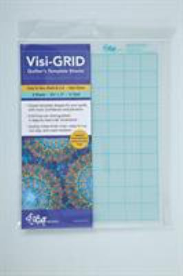 Visi-Grid Quilter's Template Sheets 9781607055211