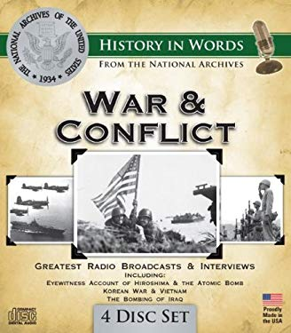 War & Conflict: Greatest Radio Broadcasts & Interviews 9781600773877