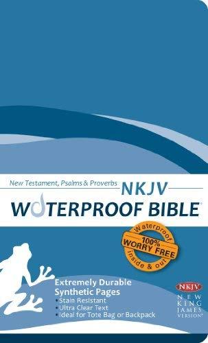 Waterproof New Testament Psalms and Proverbs-NKJV 9781609690038