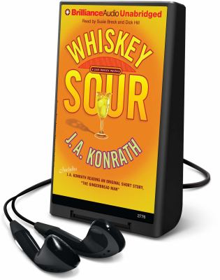 Whiskey Sour [With Ear Phones] (Playaway Adult Fiction) J. A. Konrath, Susie Breck and Dick Hill