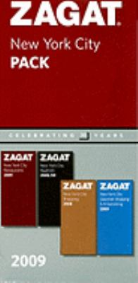 Zagat New York City Pack [With Nightlife, Shopping, and Gourmet Shopping] 9781604780376