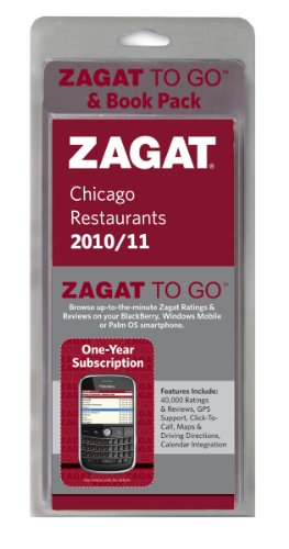 Zagat to Go Pack: Chicago Restaurants [With One-Year Membership to Zagat to Go] 9781604783124