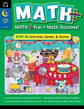 1-2 Step in Math+ Book 9781616013417