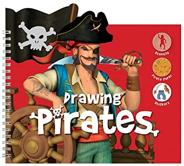 Drawing Pirates [With Stencils and Paper] 9781610670579