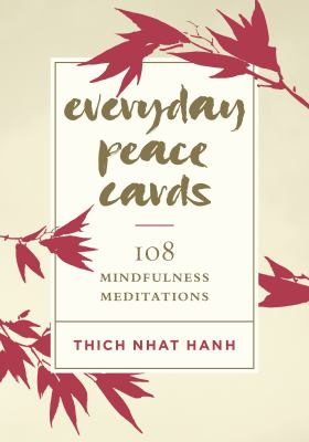 Everyday Peace Cards: 108 Mindfulness Meditations as book, audiobook or ebook.