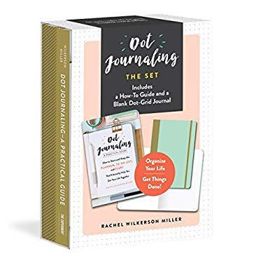 Dot Journaling_The Set: Includes a How-To Guide and a Blank Dot-Grid Journal