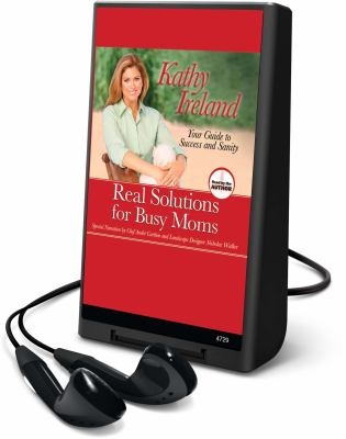 Real Solutions for Busy Moms [With Earbuds] 9781615456185