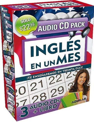 Ingles en un Mes: Te Ensenaremos en Treinta Dias! [With Paperback Book]