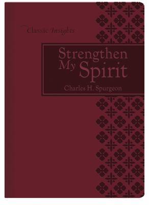 Strengthen My Spirit 9781616263508