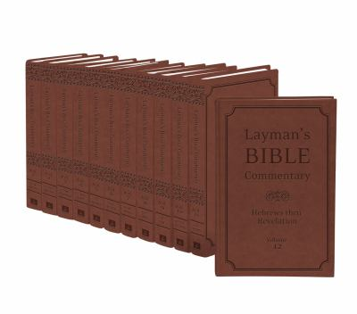 Layman's Bible Commentary Set 9781616267896