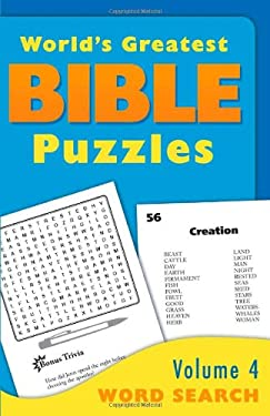 The World's Greatest Bible Puzzles--Volume 4 (Word Search) 9781616269197