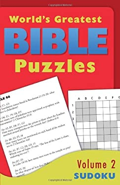 The World's Greatest Bible Puzzles--Volume 2 (Sudoku) 9781616269203