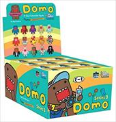 Domo, 2 Inch Qee Collectible Figure: Series 3