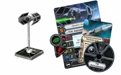 Star Wars X-Wing: Tie Advanced Expansion Pack 9781616613808