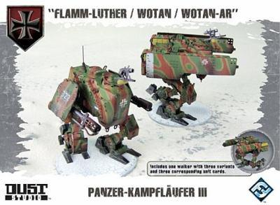 Dust Tactics: Axis Panzer Kampflaufer III 9781616614218