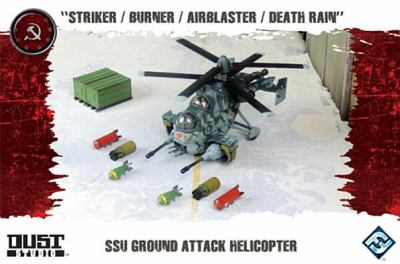 Dust Tactics: Ssu Ground Attack Helicopter 9781616614225