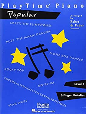 PlayTime Piano: Popular Level 1: 5-Finger Melodies 9781616770013