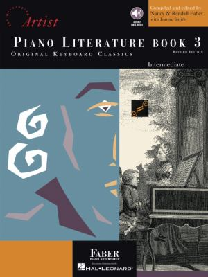 Piano Literature - Book 3: Developing Artist Original Keyboard Classics 9781616770563