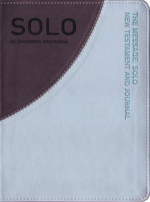 The Message Solo New Testament and Journal Aqua/Gray-MS: An Uncommon Journal 9781617471698