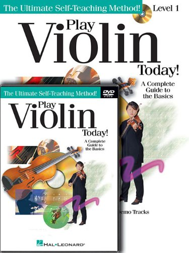 Play Violin Today! Beginner's Pack: Level 1 Book/CD/DVD Pack 9781617742484