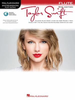 Taylor Swift: Instrumental Play-Along for Flute 9781617805714