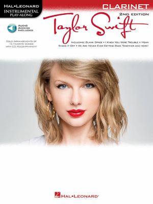 Taylor Swift: Instrumental Play-Along for Clarinet 9781617805721