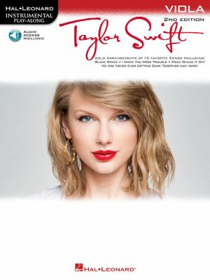 Taylor Swift: Instrumental Play-Along for Viola 9781617805790