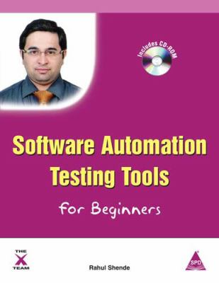 Software Automation Testing Tools for Beginners 9781619030459