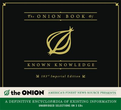 ONION BOOK OF KNOWN KNOWLEDGE CD 9781619692206