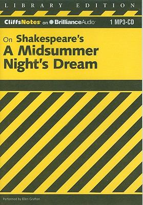 On Shakespeare's a Midsummer Night's Dream 9781611068603