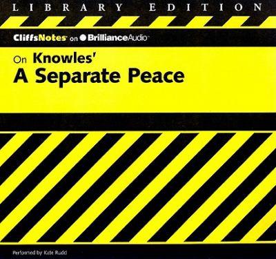 A Separate Peace 9781611068054