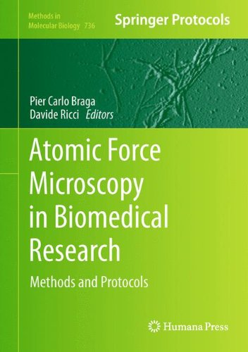 Atomic Force Microscopy in Biomedical Research: Methods and Protocols 9781617791048