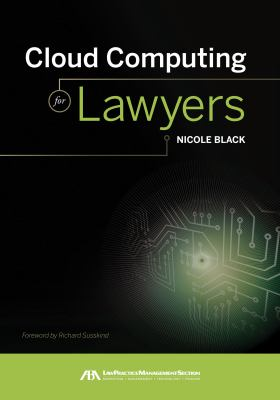 Cloud Computing for Lawyers 9781616328849