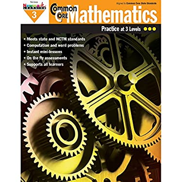 Newmark Learning Grade 3 Common Core Mathematics Aid (CC Math)