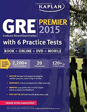 GRE® Premier 2015 with 6 Practice Tests : Graduate Record Examination
