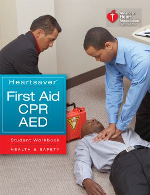 Heartsaver First Aid CPR AED Student Workbook 9781616690175