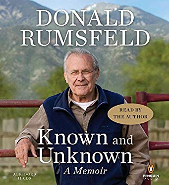 Known and Unknown: A Memoir 9781611760002