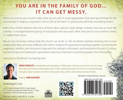 Messy Church: A Multigenerational Mission for God's Family 9781613751756