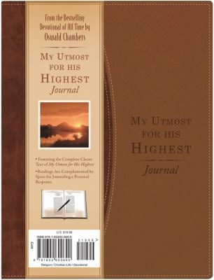 My Utmost for His Highest Journal 9781616260699