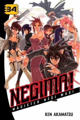 Negima!, Volume 34: Magister Negi Magi 9781612621166